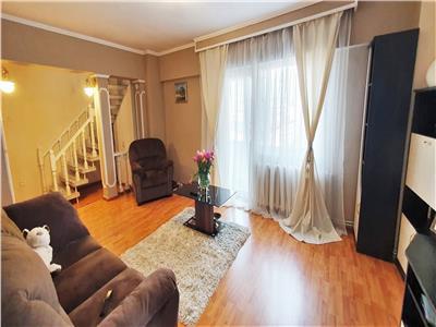 Apartament 4 camere, mobilat, utilat, 110 mp utili, et.3, Centru
