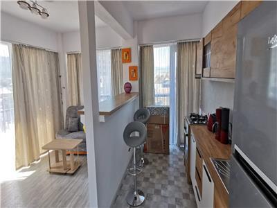 Apartament 2 camere, bloc nou, utilat si mobilat, etaj 2