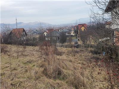 Teren 1400 mp , zona Valea Popii , panorama deosebita !!!