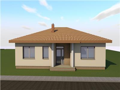 Casa individuala, 3 camere, 504 mp teren